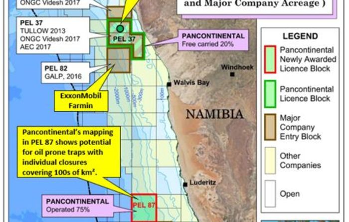 ENB Briefs: Pancon Namibia, New Standard, Sundance, Gazprom, India, and more.