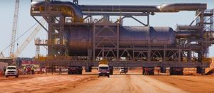 Chinese demand, Chevron output behind rising Australian LNG exports