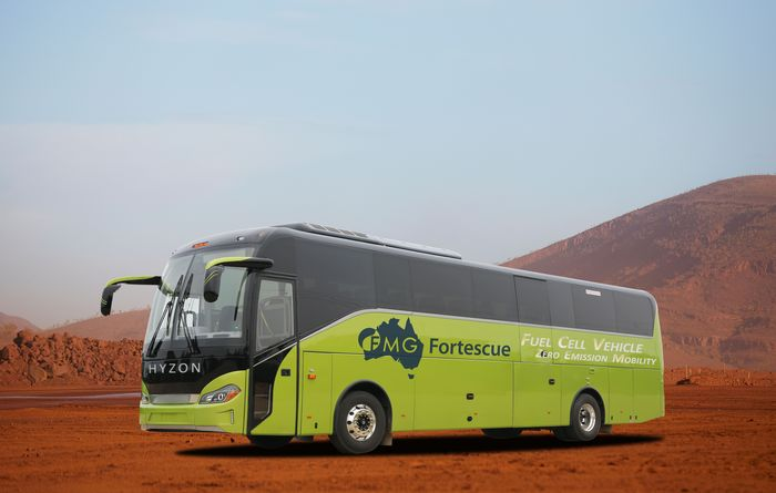 FMG workers to commute on hydrogen-fuelled coaches