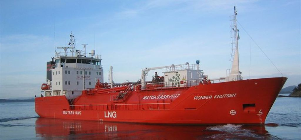 Wartsila tech for new Knutsen Shipping LNG vessel