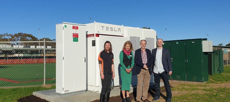 Margaret River, home of great wine and now a Tesla battery