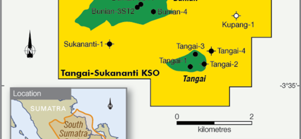Maintenance causes lower production at Bass's Tangai-Sukananti field