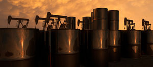 Oil at nine-month high
