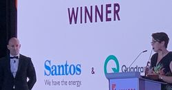 Santos-Quadrant takeover wins 'Deal of the Year' award