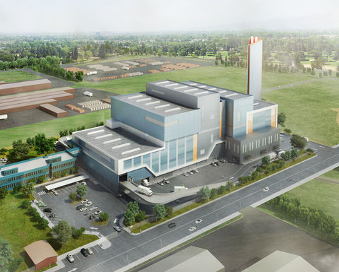 Australia's first thermal waste to energy project under construction