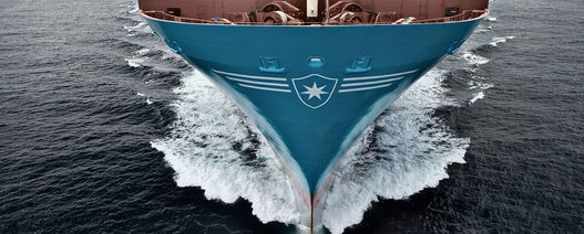 Maersk trialling biofuel shipping route