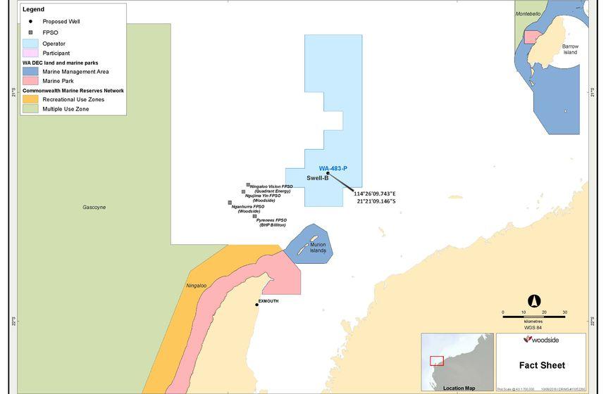 woodside petroleum share price