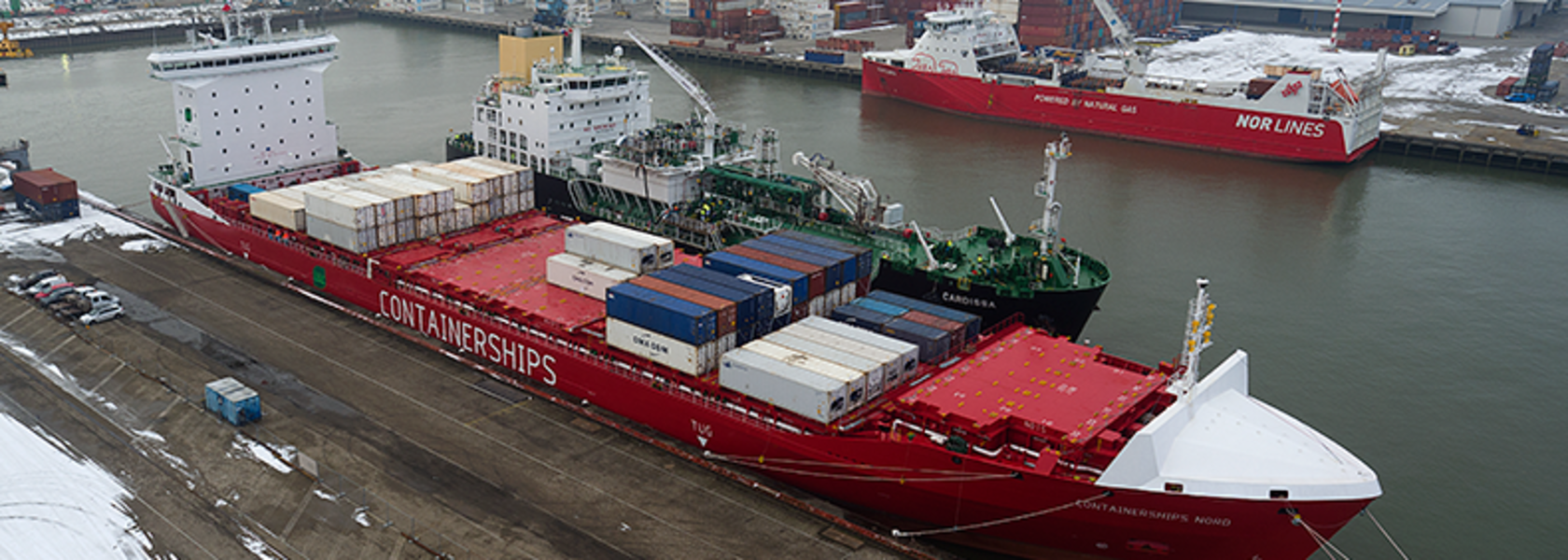 Containerships Nord completes first LNG bunkering operations