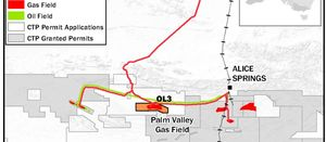 ENB Briefs: Central Petroleum, Local Council, South Texas, North Sea and more.