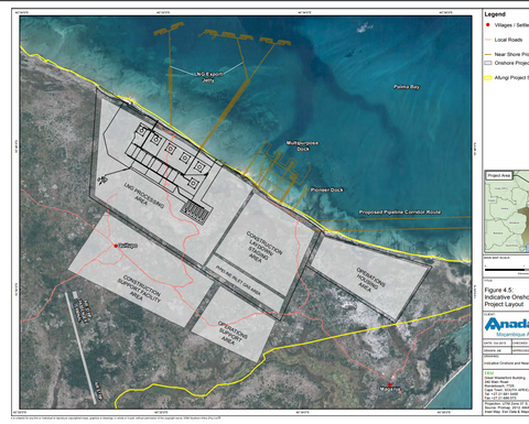Rovuma LNG wins development approval from Mozambique government