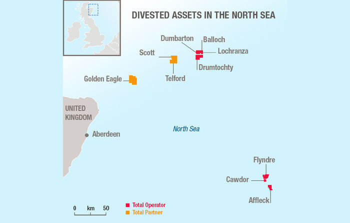 Total divests non-core UK North Sea assets