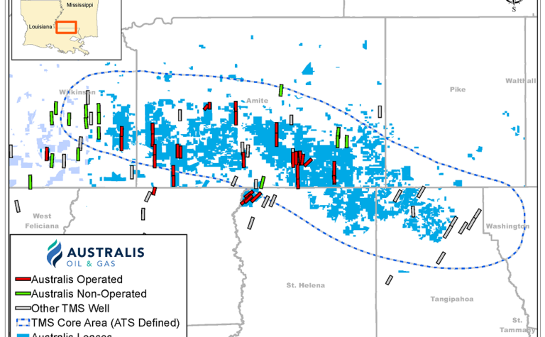 Australis adds 9MMbbl of 2C resources