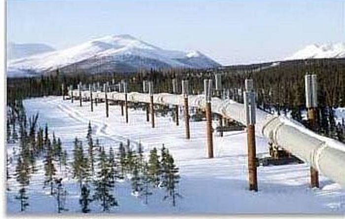 Oil prices ease on good news from Alaska and Middle East