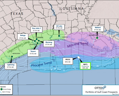Otto's Gulf Coast exploration finds high condensate yield