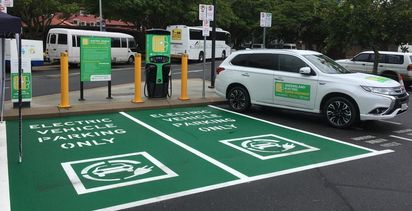 Electric Vehicle charging network expands