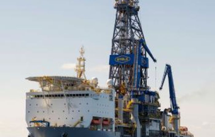 Drillship gets upgrade