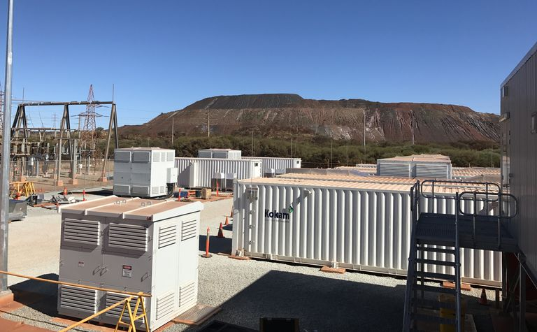 Pilbara miners powered by record-breaking battery