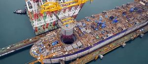 Inpex FPSO about to sail