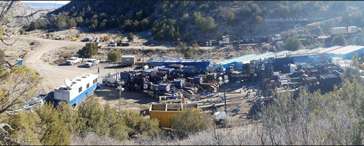 Fremont well reaches target depth, good oil and gas shows