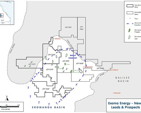 Exoma builds leviathan position in central Qld
