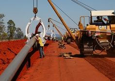 Construction of Northern Gas Pipeline complete