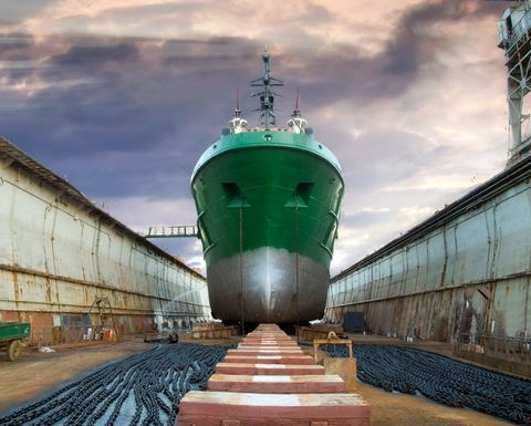 Global Energy Venture's CNG ship construction ready
