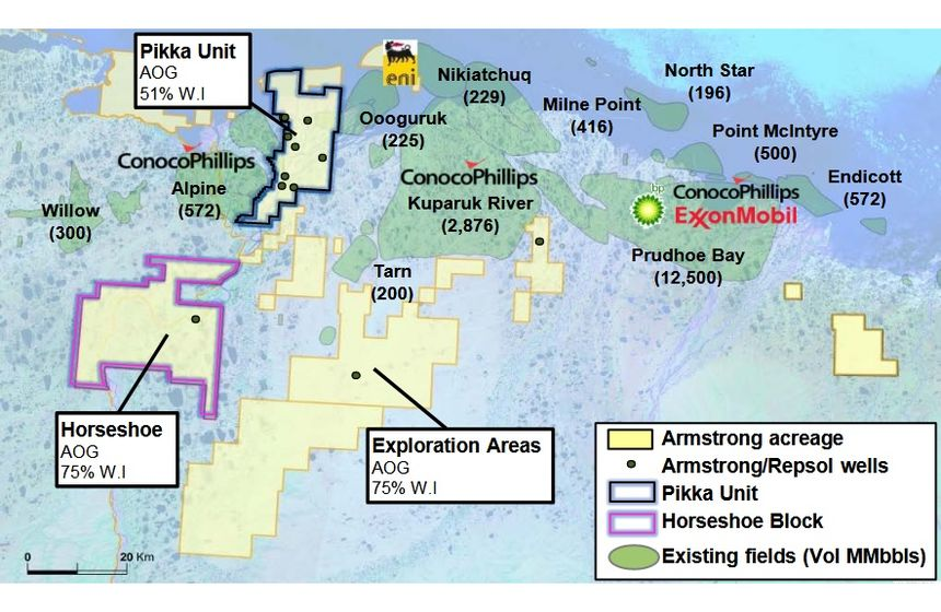 Oil Search to acquire oil assets in Alaska North Slope for $400m""