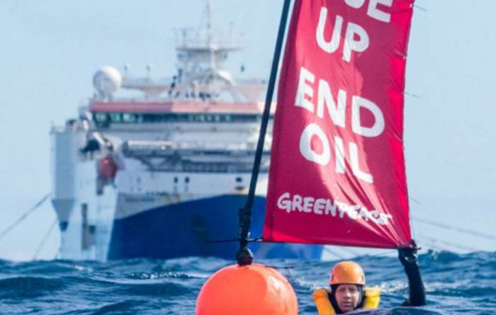Greenpeace trio charged