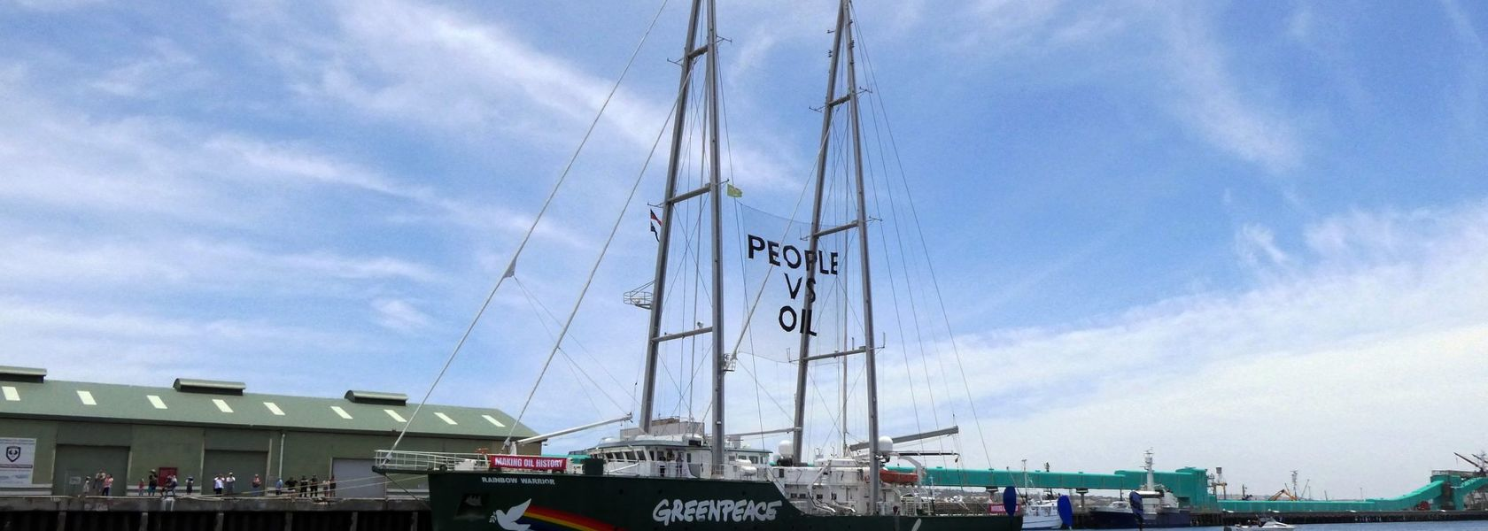 Greenpeace steps up fight against Equinor in Bight
