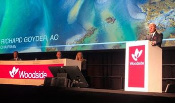 Woodside says reducing emissions 'right thing to do' at AGM