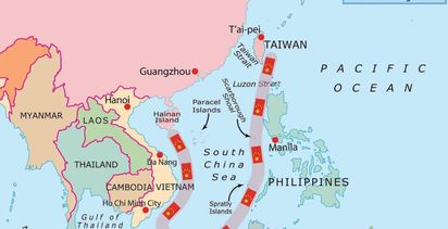 South China Sea flare up continues